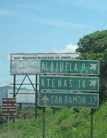 Highway Signs to Atenas
